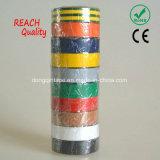 RoHSのヨーロッパの市場、承認されるセリウムのための範囲の品質PVCテープ(0.13mmx19mmx10m)