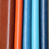 Couro útil do PVC do plutônio de 2017 falsos para a sapata da mobília