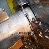 Découpage lourd de pipe et cannelure dans une machine