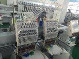 2 cabeza de la máquina del bordado por ordenador camisetas y gorras