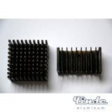 Aluminium Heatsink/het Kleur Geoxydeerde Product van de Uitdrijving van het Aluminium