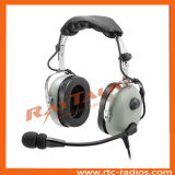 Auriculares de Noise Cancelling Aviation dos auriculares de Anr Pilot para Flight School