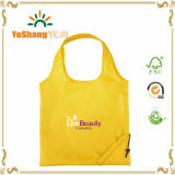 Recycled poco costoso Custom Foldable 190t 210d Waterproof Drawstring Shopping Tote Polyester