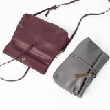 Estilo na moda de Laest do saco de couro da forma clássica do saco de ombro da bolsa das senhoras do plutônio do estilo