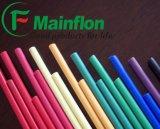 Différentes barres de bandes de Rods de teflon des couleurs PTFE