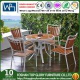 All Weathers Polywood for Outdoor Garden Stacking cadeiras de jantar de metal no Patio Bistro Restaurant (TG-1292)