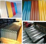 Hoja de acero acanalada/hoja de acero del color (Q195, Q235)