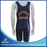 Camisola de luta personalizada de alta qualidade sublimada profissional