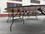 Оптовый складной столик банкета переклейки высокого качества/складной столик Rould