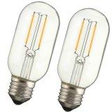 Bulbo de lâmpada leve morno AC110V do branco 120lm de Edison do vintage retro da ESPIGA de T45 E27 4W AC220V