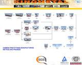 Accessorio per tubi del acciaio al carbonio secondo En10253/P265gh/A234 Wpb