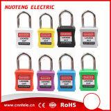 Loto 38mm Farben-unterschiedliches Sicherheits-Verschluss-Sicherheits-Vorhängeschloß