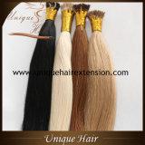 Capelli brasiliani della cheratina di Remy capovolgo le estensioni dei capelli
