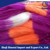 150d/96f 100%년 폴리에스테 뜨개질을 하는 직물 공간에 의하여 염색되는 털실