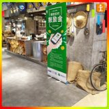Bandiera di alluminio di Pull-up della Cina del banco di mostra di mostra