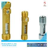 Válvula de segurança de bronze, cor de Vrass, relevo de bronze, válvula de escape de pressão BCTSV02 1.5-8bar