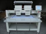 Máquina lisa do bordado de Dahao de 2 cores das cabeças 9
