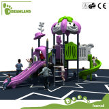 La cour de jeu de forme physique de jouet de gosses des enfants extérieurs de matériel pour le matériel de cour de jeu de glissière de gosses