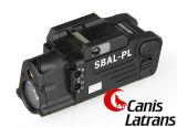 Torcia elettrica tattica dell'arma di Airsoft con la torcia elettrica rossa Cl15-0080 del laser