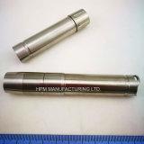 Kundenspezifische drehenelektrische LED Fackel-Teiltaschenlampen-Prägezubehör des CNC-maschinell bearbeitenEdelstahl-