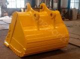 A máquina escavadora Buckets 1.2cbm a lagarta 320c resistente