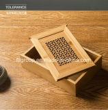Eco-Friendly дешевая коробка вина Paulownia деревянная
