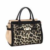 Femmes charmant le sac d'emballage classique de mode d'impression de léopard (MBNO040017)