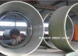 Curvatura de tubulação grande da fibra de vidro do diâmetro (4 medidores)