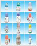 Botella de leche del bebé del surtidor de la fábrica que introduce superior BPA libremente