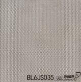 Mattonelle della porcellana lustrate disegno grigio di colore di sembrare del metallo (600X600mm)
