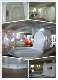 فقاعات واضحة قابل للنفخ مرج خيمة لأنّ يخيّم