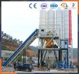Usine de traitement en lots concrète de vente chaude de station de convoyeur à bande 25m3