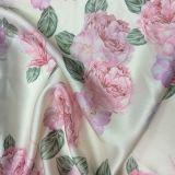 Blumen-Drucken-Satin-Kleid-Gewebe-Ausgangstextilgewebe