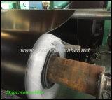 Het RubberBlad van Hypalon, het RubberBroodje van de Mat, Zwarte RubberMat
