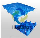 """12008*800 (48 """" *32 """") de Verschepende Gebruikte Lichtgewicht Plastic Pallets van Lage Kosten"""