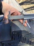 Barra di angolo d'acciaio laminata a caldo del grado Ss400 con il certificato di iso 9001