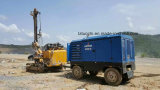 Compressor de ar Diesel portátil de Copco Liutech 500cfm 14bar do atlas