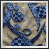 幾何学的な刺繍のレースの網の刺繍のレースのテュルの刺繍のレース