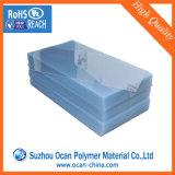 Feuille transparente/claire en plastique rigide de PVC pour l'impression offset