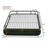 Steel universale Roof Cargo Basket Rack con Wind Fairing