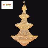 Lámpara pendiente cristalina del proyecto de oro (AQ7038)