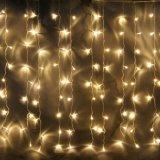 크리스마스 훈장 다른 길이 LED 폭포 빛 또는 커튼 빛