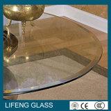 أمال [6مّ] [8مّ] [10مّ] [12مّ] مستديرة/دائرة سطح طاولة يليّن زجاج