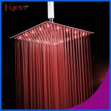Fyeer 2016 새로운 16 인치 매우 얇은 LED 샤워 꼭지