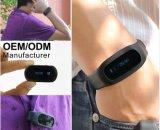 Faixa de pulso esperta do podómetro da caloria de Bluetooth 3D com o grampo livre da correia