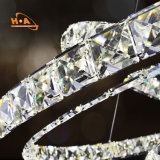Cristal moderno ligero pendiente caliente de la venta 220V LED