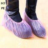 使い捨て可能なプラスチックPE/CPE青い医学的用途の滑り止めが付いた靴カバー