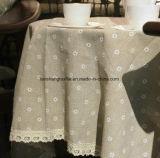 tela 25%Cotton impressa 75%Linen para o revestimento do terno da tabela do sofá
