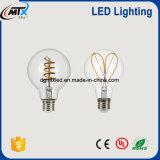 연약한 필라멘트 LED LED 점화 램프 기초 E26/27bulb 에너지 절약