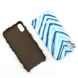 Cassa alla moda del telefono delle cellule del reticolo della Zebra-Banda per il iPhone 8 8s